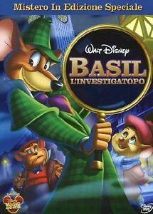 cofanetto-DVD-NUOVO-SIGILLATO-Film-BASIL-L-039-INVESTIGATOPO-Disney-di-Ron-Clements