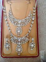 Boxed 10 Piece Bridal Wedding Set Jewellery