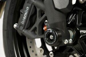 Triumph Speed Triple R 2012-2017 R&G racing fork crash protectors black