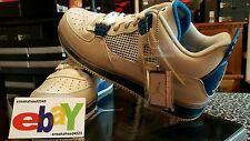 Nike Air Jordan AJF 4 Retro Fusion 4/16/09 OFF WHT/MLTRY BLU-NTRL GRY 364342 141