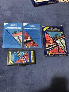 Atari 2600 Chuck Norris / Artillery Duel - XONOX - Both Manuals & Box