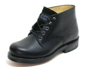 219 Chaussures à Lacets Basses Chaussures Homme Bottes Cuir Noir Caterpillar 43