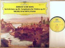 DGG Schumann WILHELM KEMPFF Kreisleriana/Symphonic Studies 2530 317 NM-