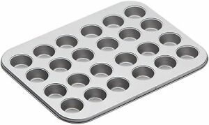 Kitchen-Craft-Antiadherente-24-Mini-4-cm-Hole-Canape-Tarta-TARTLET-Bandeja-Para-Hornear-Bandeja