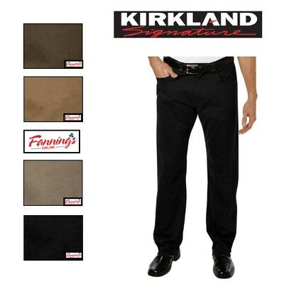 NWT Size 32x30 Burch Kirkland Signature Men/'s 5-Pocket Brushed Cotton Pant