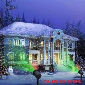 Proiettore Luci Bianche Natalizie.Dettagli Su Proiettore Laser Faro Riflettore Luci Natalizie Luci Di Natale Addobbo Esterno