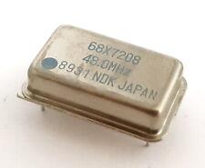 480 Mhz Crystal Oscillators Full Size Ndk 68x7208 25 Pcs