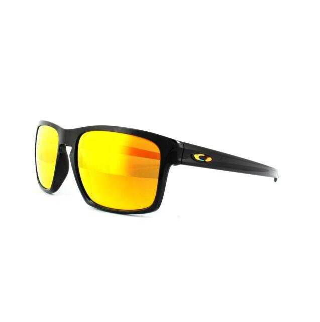 4bf19b984904f Oakley Sunglasses Sliver OO9262-27 Valentino Rossi Polished Black Fire  Iridium