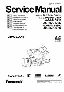 Panasonic ag-hpx170p operating instructions manual pdf download.