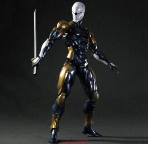 Play-Arts-Kai-Metal-Gear-Solid-Cyborg-Ninja-Gray-Fox-Action-Figure-Collect-New