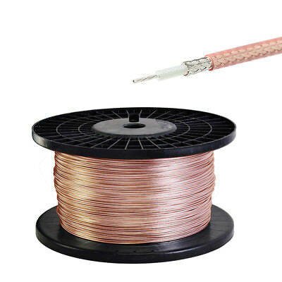 20 Meters RG179 75Ω Single Copper Braid Shielded RF Coaxial Cable