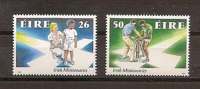720-721 Irland 1990 Nr Irische Missionare Impfung Postfrisch Mnh