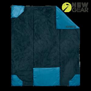 Klymit versa Luxe camping Blanket Manta-versatilidad utilizable