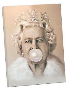 Audrey Hepburn Bubble Kaugummi Foto Bild Aufdruck auf Gerahmt Leinen Wandkunst