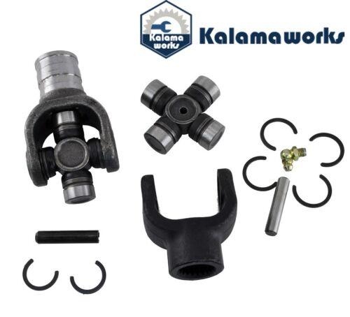 Front Driveshaft Yoke and U-Joint kit fit Yamaha Kodiak 400 YFM 400FW 93~99