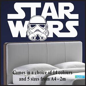 Large-Starwars-Bedroom-wall-art-sticker-of-Logo-Stormtrooper-Head-Transfer-Vinyl