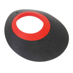Black-amp-Red-Rubber-Golf-Putting-Green-Putt-Cup-Hole-Practice-Training-Aids