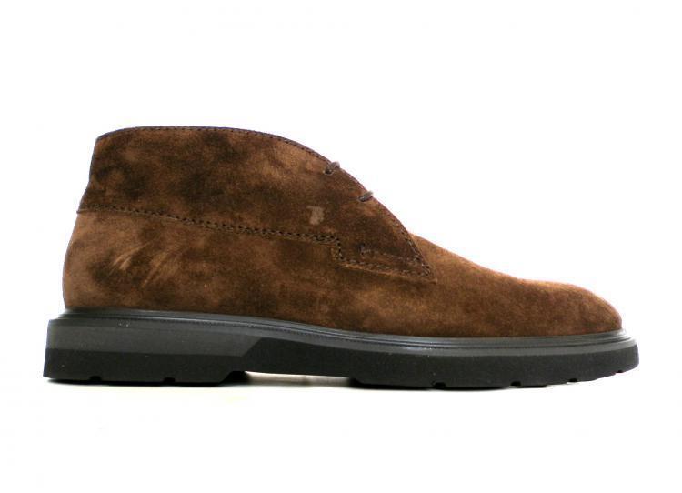 TOD& 039;S Schuhe polieren BiFarbe Gummiboden Mann XXM0ZE0Q720SUWS804 braunen Kaffee