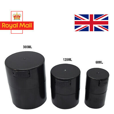 Vacuum Seal Air Tight Smell Proof Storage Stash Container