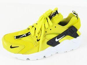Details about Nike Air Huarache Run Premium Zip Men's Shoe Bright Citron Sz 4.5; 36.5 EU