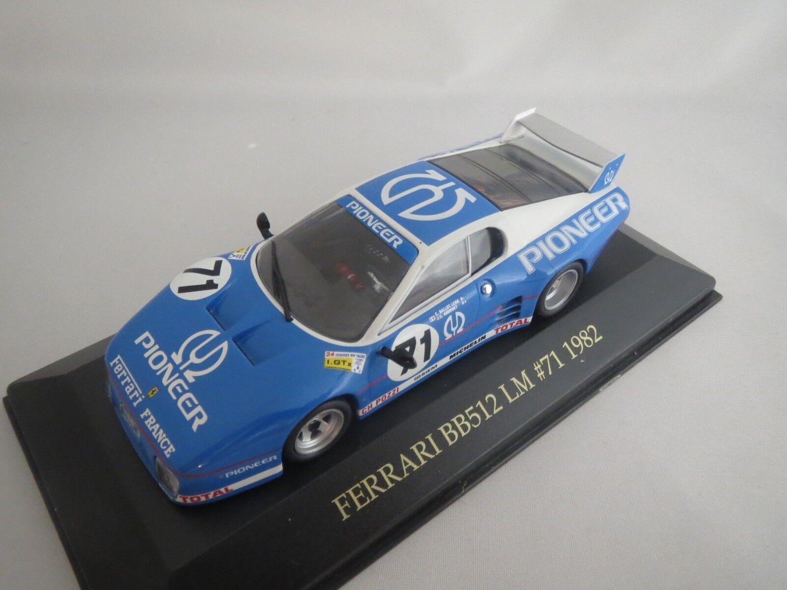 IXO IXO IXO  Ferrari  512BB  LM   71   1982   (hellblau)  1 43  OVP  | Zahlreiche In Vielfalt  07fea4