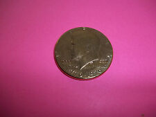 Gold plated Kennedy  half Dollar 200 years of freedom commemerative coin