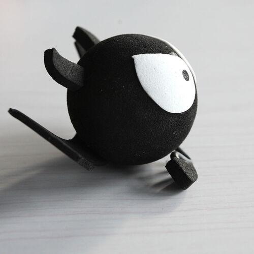 Funny Antenna Balls Black Big Eyes BAT Decorative Car Antenna Topper Ball MC