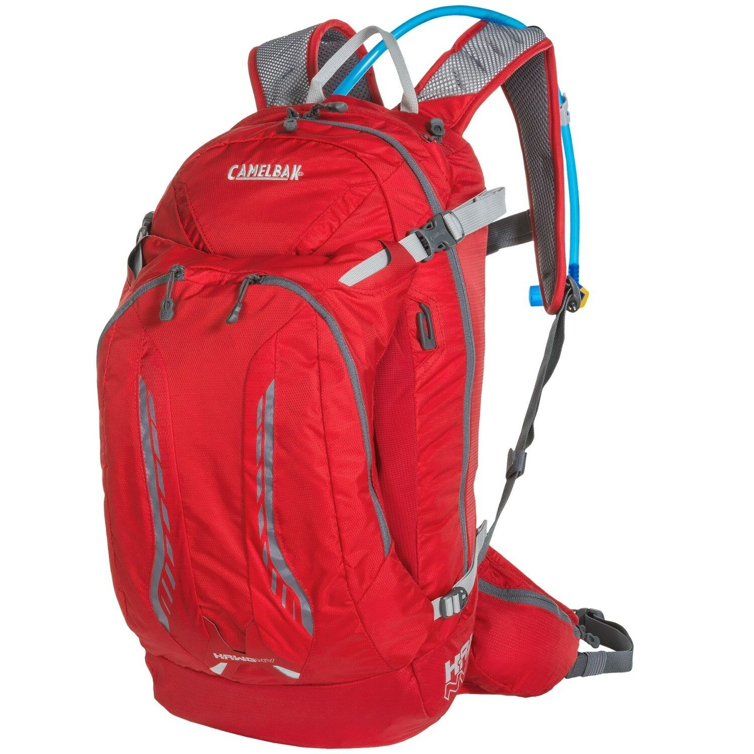 Camelbak H.A.W.G Hawg NV 17L 17L 17L 100 Hydration Pack Backpack Barbads Cherry Graphite 70636b