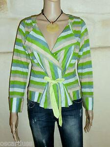 top-chemise-cache-coeur-ONE-STEP-Taille-38-100-coton-EXCELLENT-ETAT