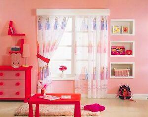 Kinderzimmer gardine prinzessin barbie 140cm x 240cm b x l h ebay - Barbie kinderzimmer ...