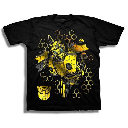 Transformers Bumblebee Movie Boys Short Sleeve T-Shirt