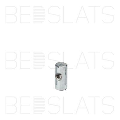 Barrel Nut M8 x 18mm Slotted Metal Furniture  Cross Dowel Centre Threaded
