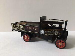 Matchbox-Yesteryear-Y27-Foden-Steam-Wagon-Code-3-Twitter-Steam-Rally-Charity