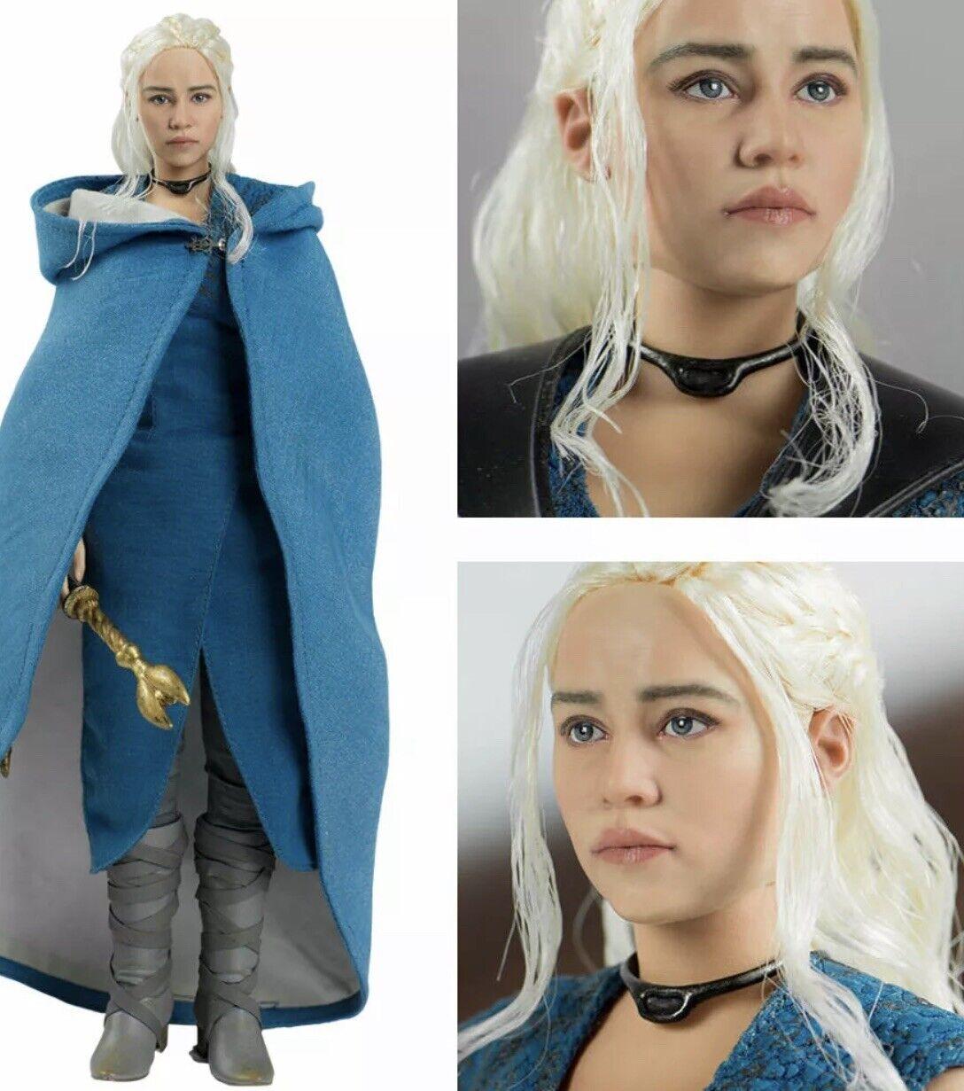 Juego de tronos serie Baratheon Muñeca. con Dragón. Threezero. Emilia Clarke
