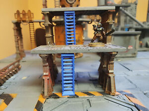 67mm-Tech-ladders-3-pack-compatible-with-sector-mechanicus-warhammer-40k
