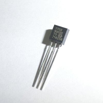 5 x MCP1702-3302E//TO 1702-3302E 250 mA Low Quiescent Current LDO Regulator TO92