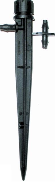 IRRIGAZIONE Antelco POT Sprinkler regolabile su un paletto pacco da 25