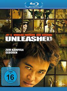 Blu-ray * UNLEASHED - ENTFESSELT - Bob Hoskins Morgan Freeman Jet Li # NEU OVP +