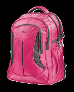 Pink-Laptop-Backpack-15-6-Womens-Mens-Rucksack-School-Bag-Cycling-Macbook-15-16