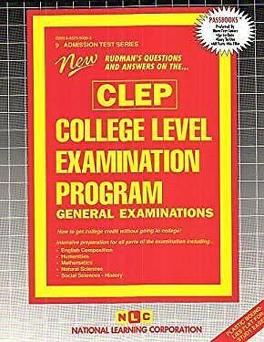 College Level Examination Program - General Examination (CLEP) : One Volume Comb
