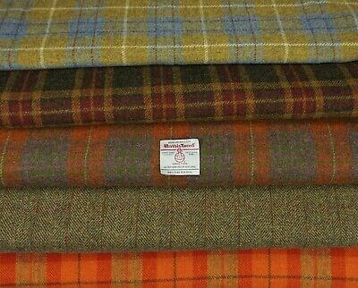 Harris Tweed Tela Y Etiquetas 100/% Lana Craft material-varios tamaños código.aug25
