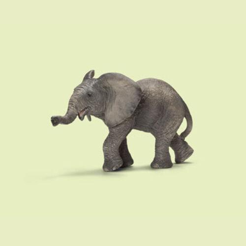 """/""""Africain éléphant/"""" 14658 Schleich-Neuf avec drapeaux! NEW with jour!"""