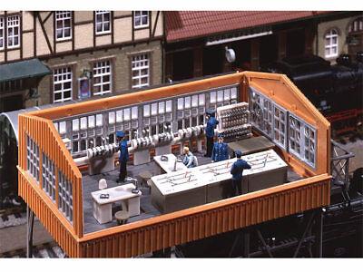 Faller 120118 Stellwerkeinrichtung Stellwerk Inneneinrichtung H0 Bausatz Neu