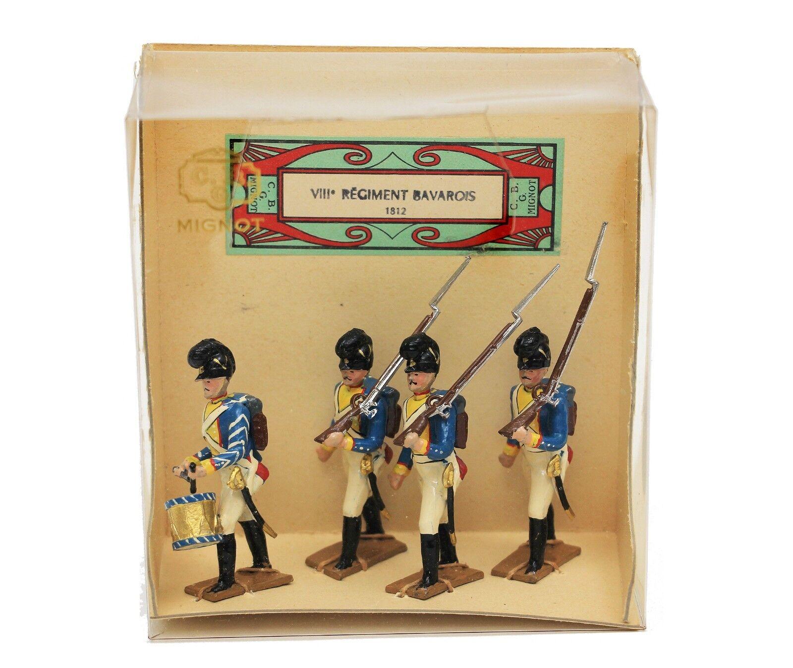 Vintage CBG Mignot a VIII Regiment Bavarois Bavarian New in Box