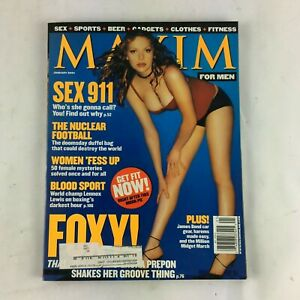 January-2001-Maxim-Magazine-Foxy-Sex-911-The-Nuclear-Football-Women-Fess-Up