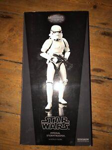 Sideshow Star Wars Des militaires de Stormtrooper impérial Afssc1045