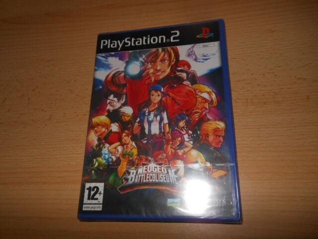 PS2 NEO GEO BATTLE COLISEUM , PAL Reino Unido, NUEVO & Sony PRECINTO DE FÁBRICA