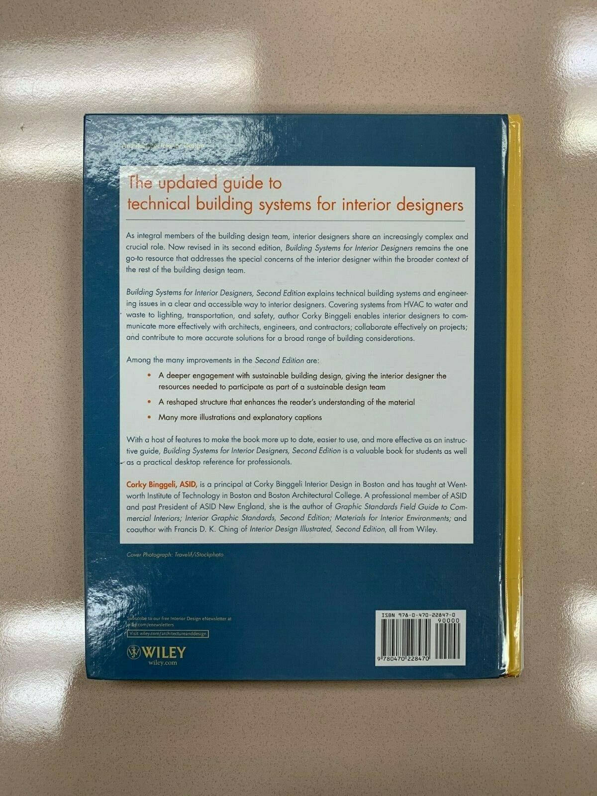 Building Systems For Interior Designers By Corky Binggeli 2009 Hardcover For Sale Online Ebay