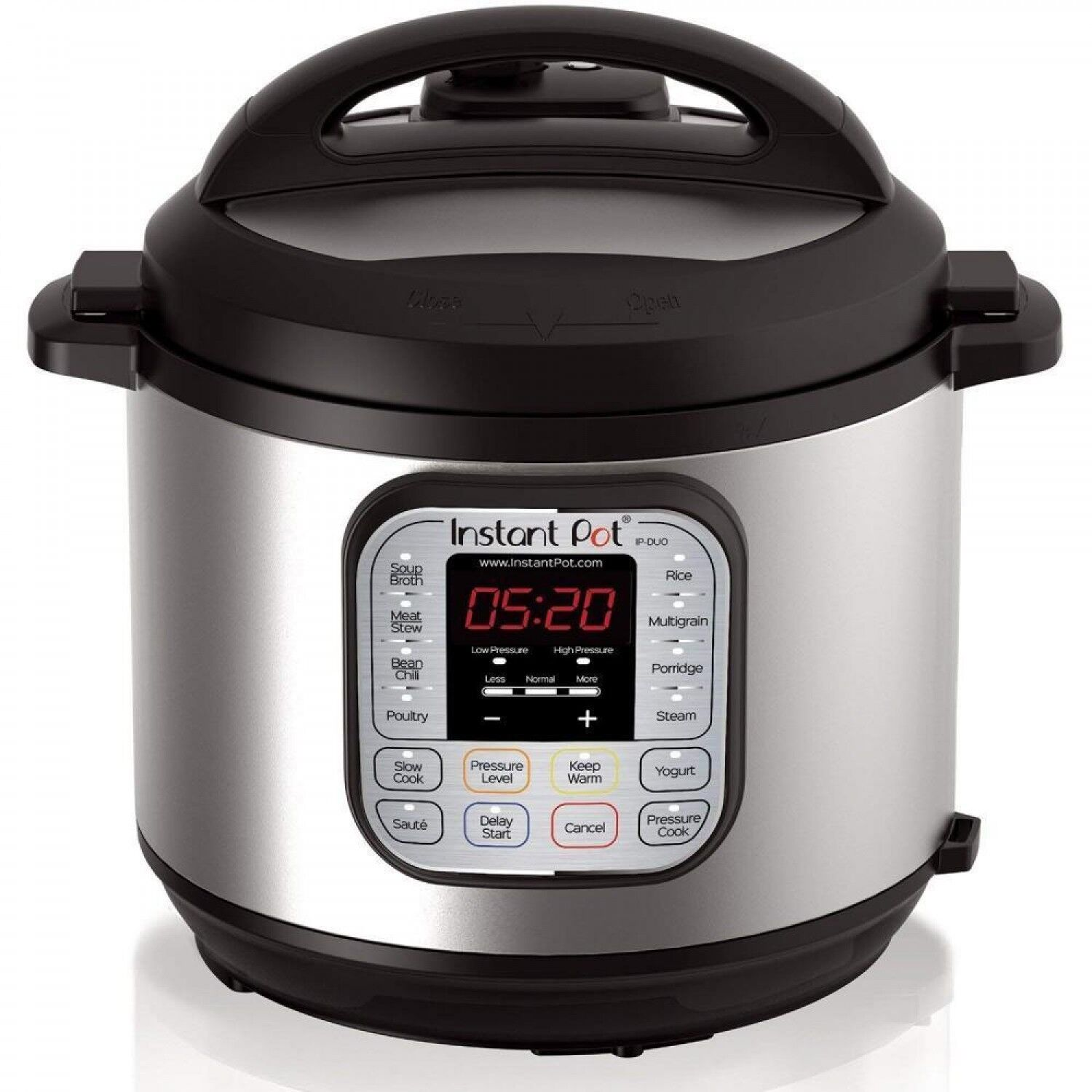 New Pot DUO80 8 Qt 7-in-1 Multi- Use Programmable Pressure Cooker, Slow Instant.