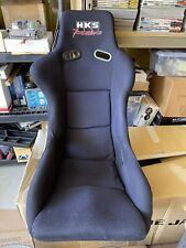 Rare Jdm Hks Power Bride Racing Bucket Seat S13 R32 Fd3s Rx7 Turbo Supra Z32